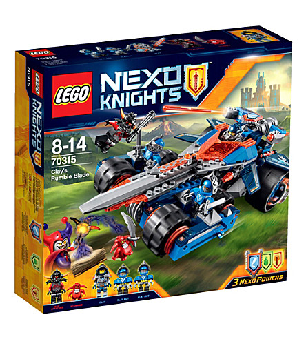 LEGO Nexo Knights Clay's Rumble Blade