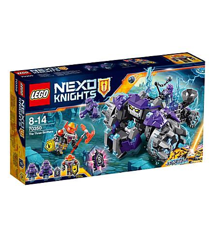 LEGO Nexo Knights Three Brothers set