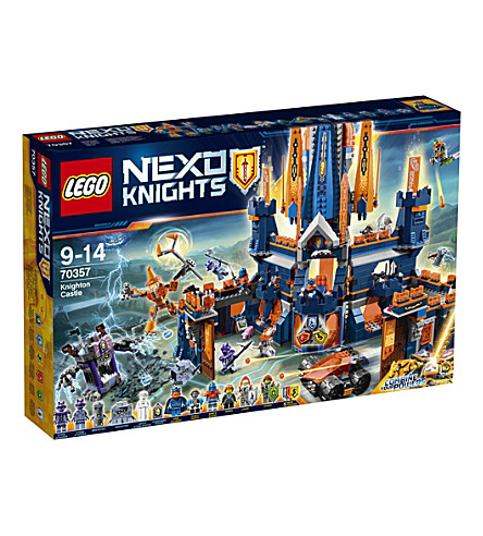 LEGO Lego nexo knighton castle set