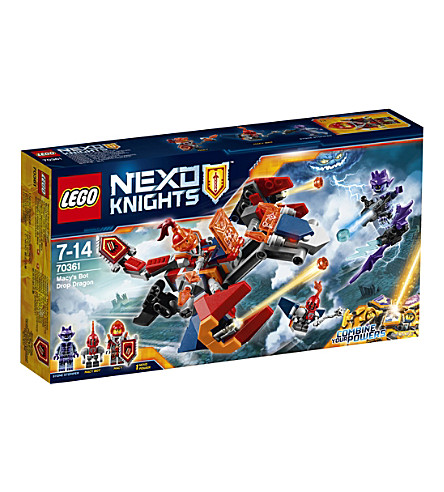 LEGO Nexo Knights Macy's Bot Drop Dragon play set