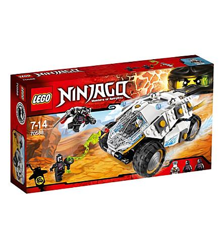LEGO Ninjago Titanium Ninja Tumbler