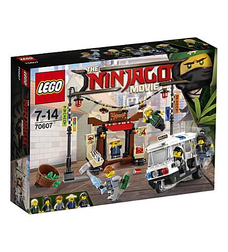 LEGO The Lego Ninjago Movie City Chase