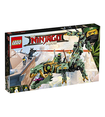 LEGO The Lego Ninjago Movie Green Ninja Mech Dragon