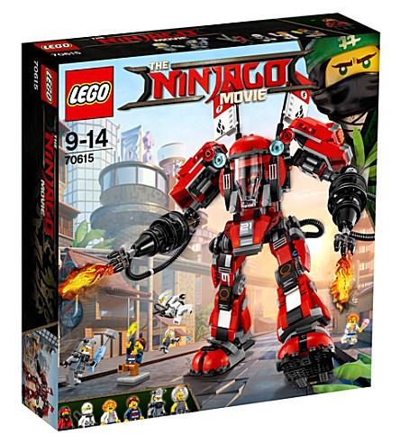 LEGO The Lego Ninjago Movie Fire Mech