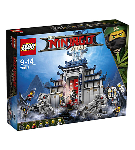 LEGO The Lego Ninjago Movie Temple of The Ultimate Ultimate Weapon