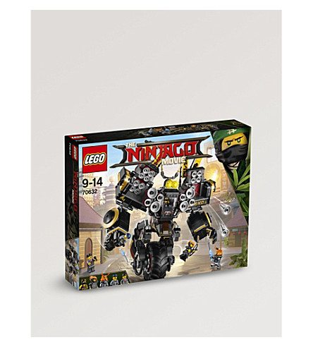 LEGO Ninjargo quake mech playset