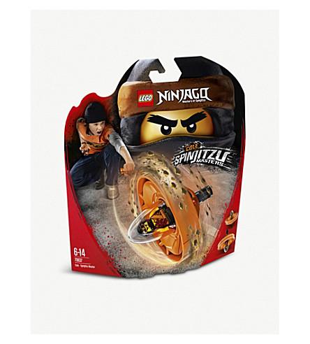 LEGO Ninjago Cole Spinjitzu Master toy