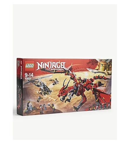 LEGO Ninjago Firstbourne Dragon set