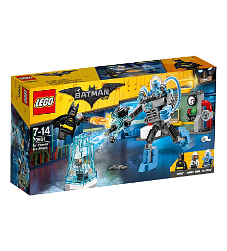LEGO The Lego Batman Movie Mr. Freeze Ice Attack