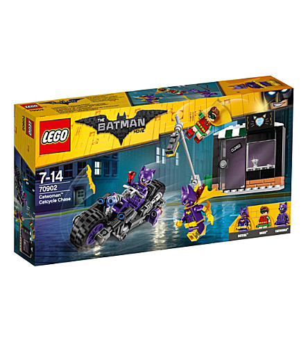 LEGO The Lego Batman Movie Catwoman Catcycle Chase