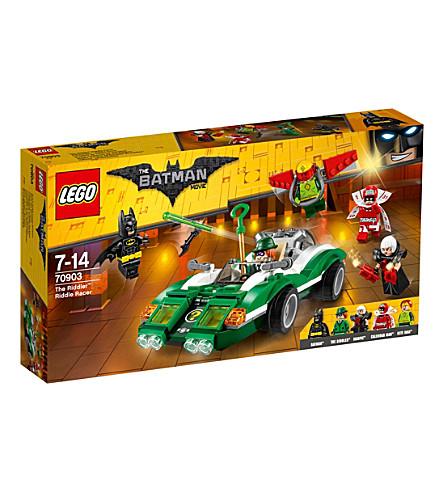 LEGO 的 Lego Batman 电影振动筛谜语赛车