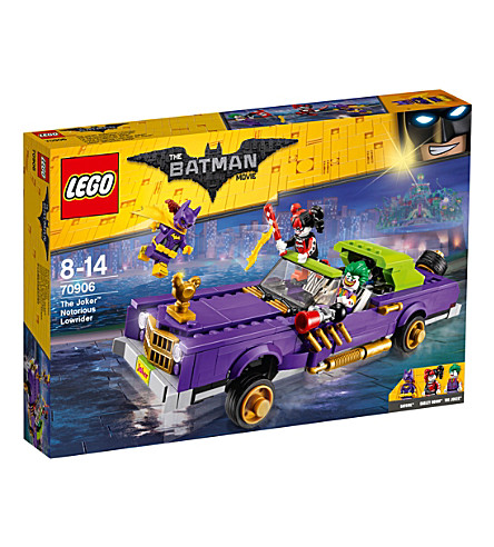 LEGO The Lego Batman Movie The Joker Notorious Lowrider