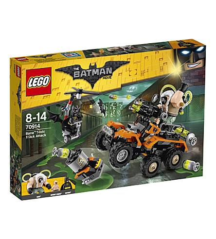 LEGO The Lego Batman Movie Bane Toxic Truck Attack