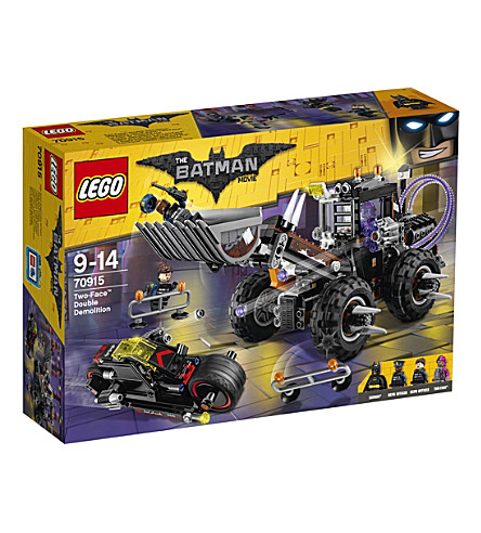 LEGO The Lego Batman Movie Two-Face Double Demolition