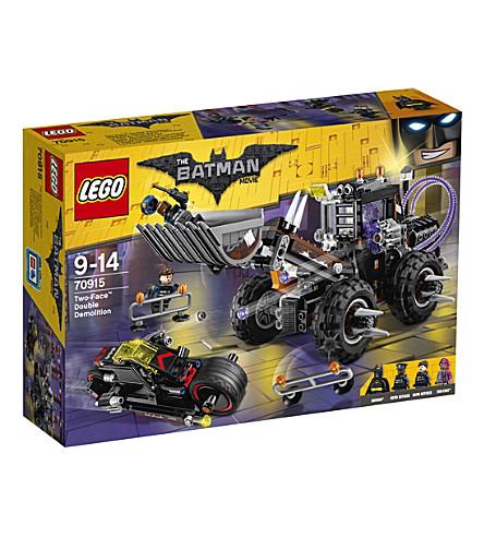 LEGO The Lego Batman Movie Two-Face Double Demolition