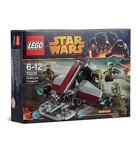 LEGO Star Wars Kashyyyk troopers