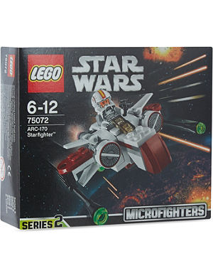 LEGO Star Wars ARC-170 Starfighter set