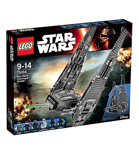 LEGO Star Wars kylo ren's command shuttle