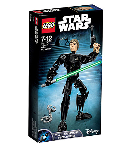 LEGO Star Wars luke skywalker buildable figure