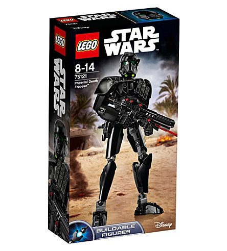 LEGO Rogue One imperial death trooper buildable figure