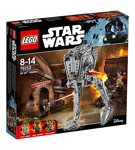 LEGO Rogue One AT-ST Walker buildable figure
