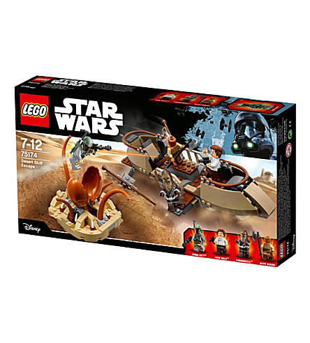 LEGO Star Wars Desert Skiff Escape playset