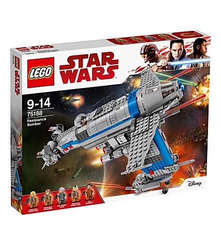LEGO Star Wars Episode VIII Resistance Bomber
