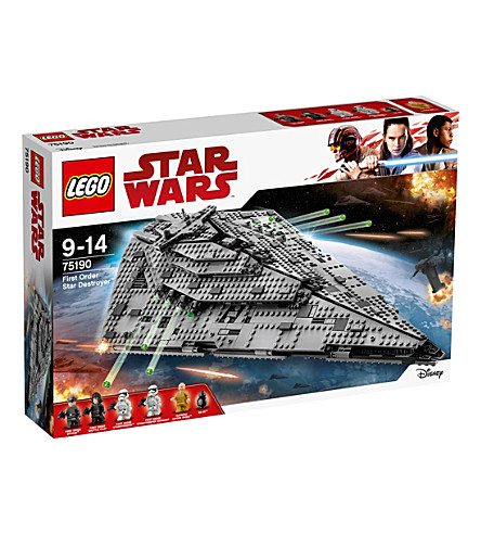 LEGO Star Wars Episode VIII First order star destroyer figure