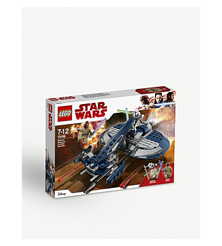 LEGO General Grievous Combat Speeder set