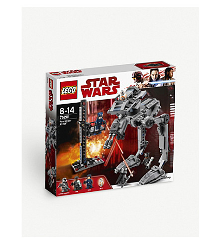 LEGO First Order AT-ST playset