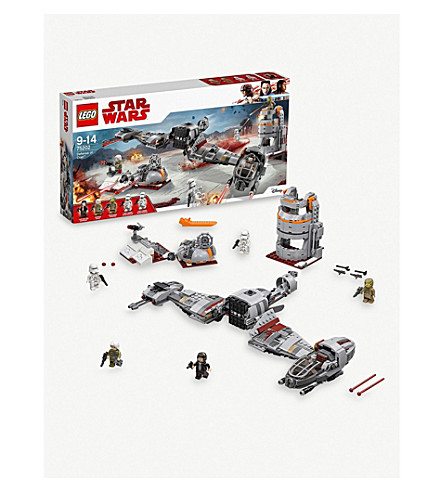 LEGO Defense of Crait playset