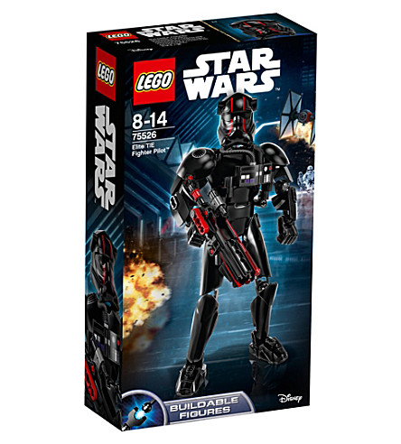 LEGO Star Wars Episode VIII Elite TIE fighter pilot figure