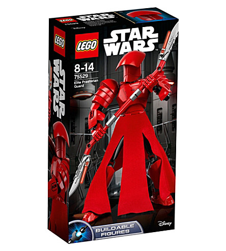 LEGO Star Wars Episode VIII Elite Praetorian Guard figure