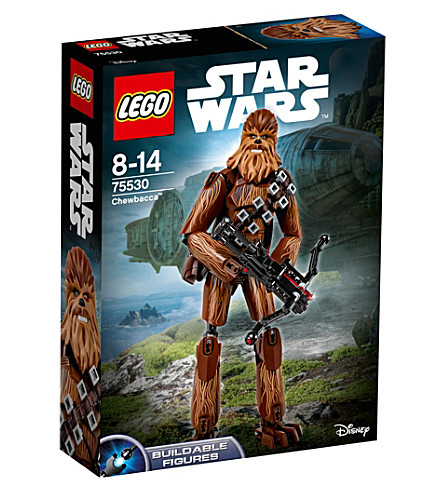 LEGO Star Wars Episode VIII Chewbacca figure