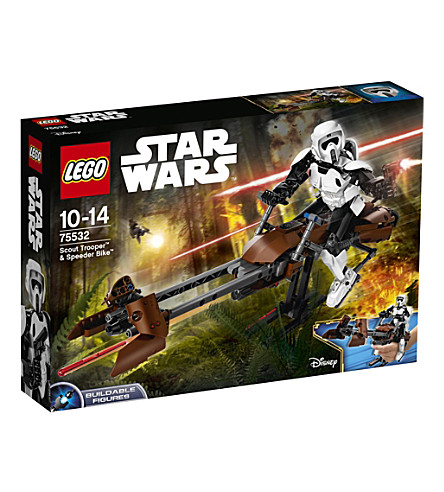 LEGO Star Wars Scout Trooper & Speeder Bike set