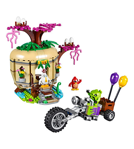 LEGO Angry birds movie bird island egg heist