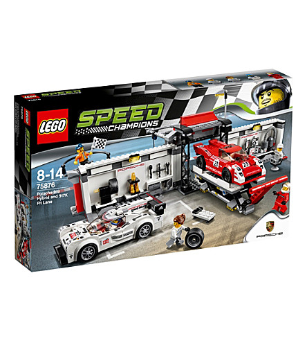 LEGO Speed Champions Porsche 919 Hybrid & 917K Pit Lane