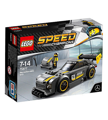 lego speed champions mercedes amg gt3. Black Bedroom Furniture Sets. Home Design Ideas