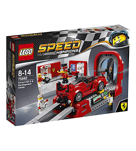 LEGO Ferrari FXX K & Development Center set