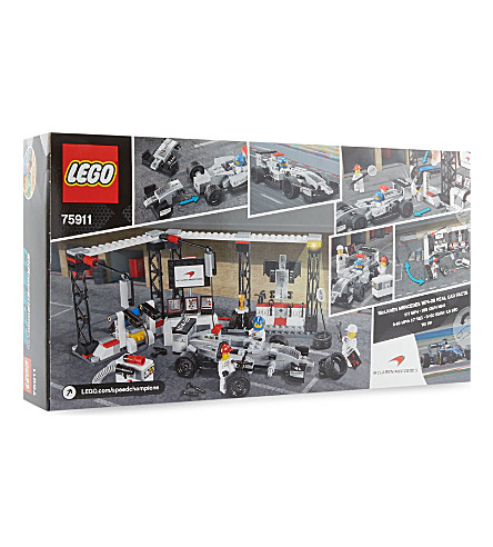 LEGO Mercedes pit stop playset