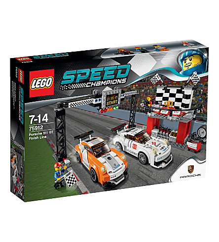 LEGO Speed Porsche finish line set