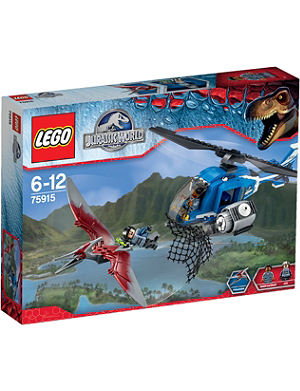 LEGO Jurassic pteranodon capture set