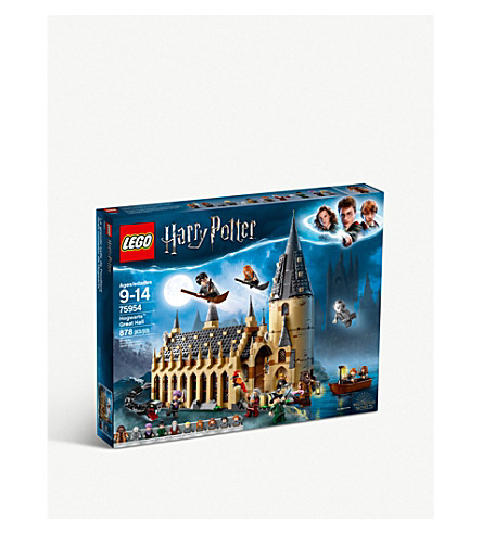 LEGO Harry Potter 75954 Hogwarts Great Hall set 9+ years