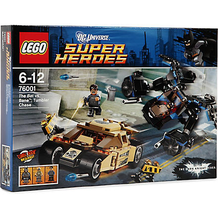 LEGO The Bat vs Bane: Tumbler Chase