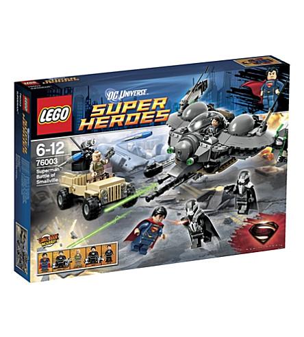 LEGO Superman Battle of Smallville