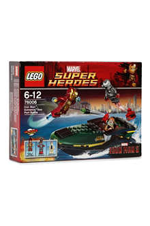 LEGO Iron Man: Extremis Sea Port Battle
