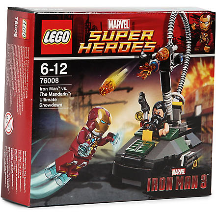 LEGO Iron Man vs. The Mandarin: Ultimate Showdown