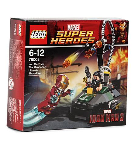 LEGO Iron Man vs. The Mandarin: Ultimate Showdown