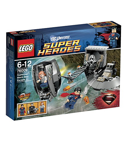 LEGO Superman Black Zero Escape
