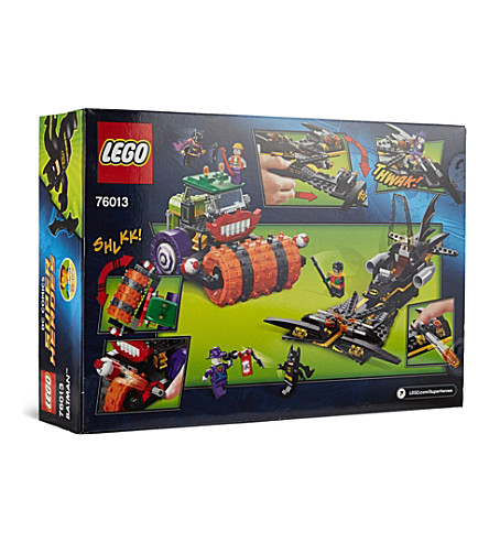 LEGO DC Superheroes- Batman: The Joker steam roller